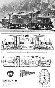 Ge6/6 I Brochure (Foto: Archiv Arthur Meyer) Railroad Pictures, Swiss Railways, Model Trains, Locomotive, Switzerland, Landscapes, Floor Plans, Beauty, Trains
