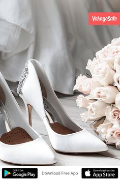 The VarageSale App - Buy and sell wedding dresses, footwear, jewelry, and accessories easily in a safe environment.