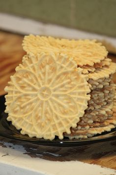 Gluten Free Pizzelle Cookies | Small Town Living in Nevada