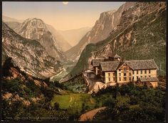 [Stalheim Hotel and Naerodalen, Hardanger Fjord, Norway] (LOC) by The Library of Congress, via Flickr