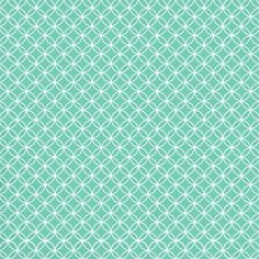 Turquoise and white pattern
