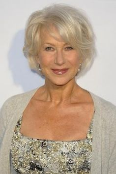 Helen Mirren Hairstyles | Hair Styles Blog.... Helen Mirren really has had some great styles for her face (which is shaped a lot like mine!) and I love how they are all just a little 'messy', meaning no football helmets..