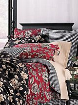 Sabrina Quilt, Shams, Pillows & Bedskirt | LinenSource.    I have wanted this set for 2 years and did not want to spend over $550, but now it is on sale from $119 - $169 depending on the size of the bed and it is MINE.                   I'll be right back because I am ordering this now!