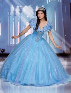 Disney Royal Ball | Quinceanera Dresses | Quinceanera Dresses by Disney Royal Ball THEY LITERALLY HAVE AN EXACT REPLICA OF THE CINDERELLA DRESS I WANT I NEED IT I MUST HAVE IT