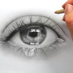 Tutorial of this eye drawing is now on my youtube channel. Check it out and tell me what you think! (Click on the link in my bio)