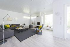 Design-Talo Trio Seinäjoen asuntomessuilla Divider, Room, Furniture, Design, Home Decor, Bedroom, Decoration Home, Room Decor, Rum