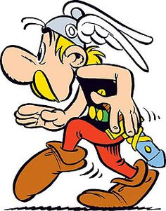 Asterix!! -- My son loved these illustrated books --
