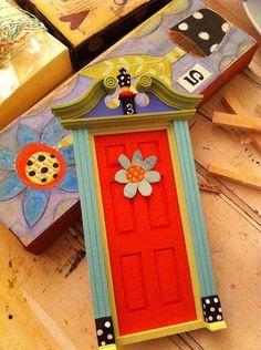Red Door - fairy door