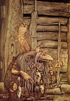 'Brian Froud by Chester the 1st, via Flickr' ~ Dark Crystal.. Would love to go back and watch it again.