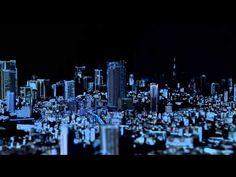 Videomapping: Está genial esto. Un videomapping de la ciudad de Tokio en escala 1:1000. Por favor chequen este sitio: http://tokyocitysymphony.com/