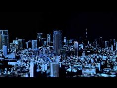 This is 3D projection mapping on a scale I've not seen before… 1:1000. The Tokyo City Symphony has been created as a 10 year celebration for Roppongi Hills, which is themed on 'Love Tokyo' and ultimately aims for people to push for a more attractive and exciting world-class city.