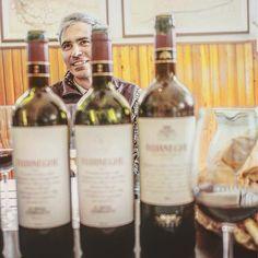 The man behind the wine... . Dante of Bossi Fedrigotti estate, winemaker of the estate wines, including FOJANEGHE (here pictured vintages 05, 07 and 12), as well as indigenous varietals Teroldego and Marzemino. by christinarasmussen_. italianwine #travelgram #vineyard #amarone #wanderlust #wine #instago #winetasting #verona #igtravel #wineo #instatravelling #mytravelgram #vino #instatravel #travelling #landscape #winelover #photography #valpolicella #finewine #bordeauxblend #olympus #travel…