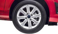 Ford Fiesta 2013 cuenta además con el sistema de control activo (nibble control) que compensa el equilibrio de las ruedas ante las irregularidades del camino. No sentirás el volante vibrar ni en las calles empedradas. ¡Te retamos a probarlo! #FordFiesta2013 Control System, Racing Wheel, Wheels, Drive Way
