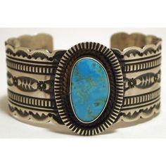 Navajo Kingman Turquoise Sterling Silver Cuff Bracelet Harold Joe ❤ liked on Polyvore featuring jewelry, bracelets, navajo cuff bracelet, sterling silver turquoise jewelry, navajo sterling silver jewelry, navajo turquoise jewelry and green turquoise jewelry