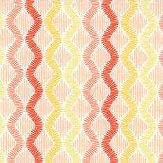 Sunnyside Shimmer Blaze pêche Stripe par par SistersandQuilters
