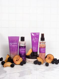 The mark. Passionate for Plumberry bath and body collection is a dramatic blend of succulent plum, blackberry blossom and passionflower.. #AvonRep