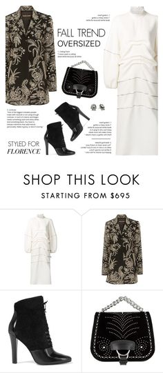 """""""How to Style a White Oversized Dress for Travel to Florence"""" by outfitsfortravel ❤ liked on Polyvore featuring J.W. Anderson, Naeem Khan, 3.1 Phillip Lim, Miu Miu and DANNIJO"""