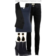 The Originals - Elijah Mikaelson Inspired Outfit by staystronng on Polyvore featuring Monsoon, Ted Baker, SELECTED, KG Kurt Geiger and toosis
