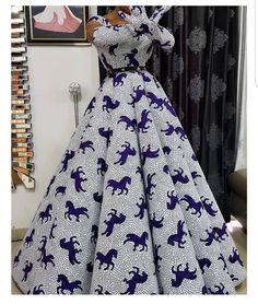 African Fashion Ankara, Latest African Fashion Dresses, African Print Fashion, African Dresses For Women, African Attire, Dashiki Prom Dress, African Print Dress Designs, Ankara Dress Styles, African Traditional Dresses