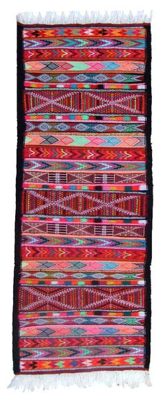 Handwoven Berber Kilim from North Africa found in the dansh shop and webshop kira-cph.com