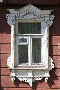 Traditional window frame (Nalichnik) from Egoryevsk, near Moscow, Russia #20