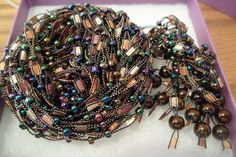 Beaded Creations - Beaded Neck Scarves