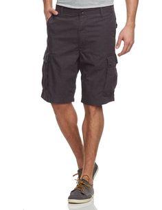 Vans Shorts terrain cargo short - Pantalones cortos para hombre, tamaño 16 UK, color new charcoal / mulberry: Amazon.es: #Moda #Hombre #pantalón