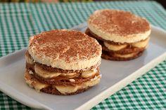 Mel e Pimenta: Tortinha de Spekulaas Wafel com banana e doce de leite