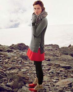 Modéstia e Pudor: Saia no Inverno