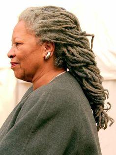 Toni Morrison's locs of wisdom