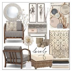 """""""Fall's Cool Hues"""" by pat912 ❤ liked on Polyvore featuring interior, interiors, interior design, home, home decor, interior decorating, Better Homes and Gardens, Holiday Lane, Abyss & Habidecor and Ballard Designs"""