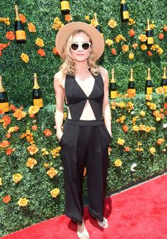 Diane Kruger in Roland Mouret - 2015 Veuve Clicquot Polo Classic New Jersey