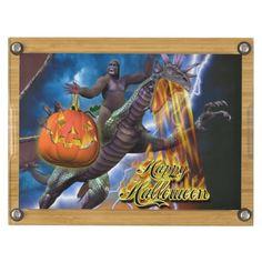 Happy Halloween 7 Rectangular Cheese Board