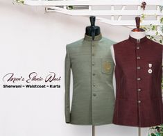 Buy wedding sherwani for men by Shameel Khan. Choose elegant styles and colors to look stylish this wedding season. Bridal Outfits, Boho Outfits, Fashion Outfits, Fashion Tips, Dresses For Big Bust, Wedding Sherwani, Couture Week, Couture Collection, Silk Sarees