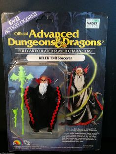 dungeons and dragons, Action | AD&D TSR ADVANCED DUNGEONS & DRAGONS LJN KELEK MOC ACTION FIGURE1983 ...