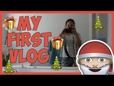 My FIRST Vlog | Christmas Vlog #1