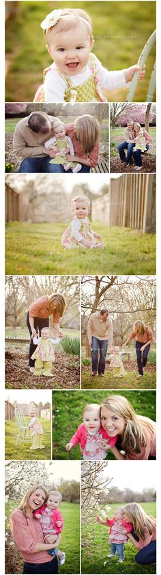 Ideas for Avery's birthday pictures with mommy & daddy
