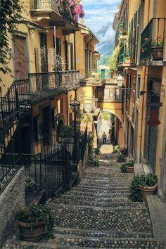Italy Travel Inspiration – Bellagio, Lake Como, Italy Italien Reiseinspiration – Bellagio, Comer See, Italien Travel Destinations Places Around The World, The Places Youll Go, Travel Around The World, Places To See, Places To Travel, Travel Destinations, Travel Things, Travel Gifts, Comer See