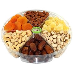 Premium Gourmet Nuts  Dried Fruits Gift Basket Large Tray Fresh and Roasted *** More info could be found at the image url.