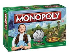 MONOPOLY: The Wizard of Oz 75th Anniversary Collector's Edition (2013) USAopoly