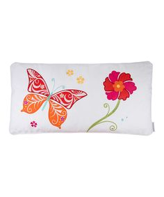 Look at this Bloom Butterfly Throw Pillow on #zulily today!