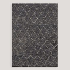 Amira Knotted Wool Rug | World Market