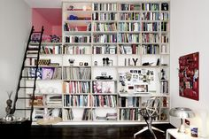 A Tiny German Apartment Packed Full of Personality (and Books!) — Dwell
