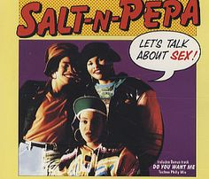"""For Sale - Salt N Pepa Let's Talk About Sex UK  CD single (CD5 / 5"""") - See this and 250,000 other rare & vintage vinyl records, singles, LPs & CDs at http://eil.com"""