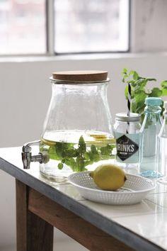 Selbstgemachter frischen Pfefferminztee * DIY * Inspirationen für Getränke * CocoJana