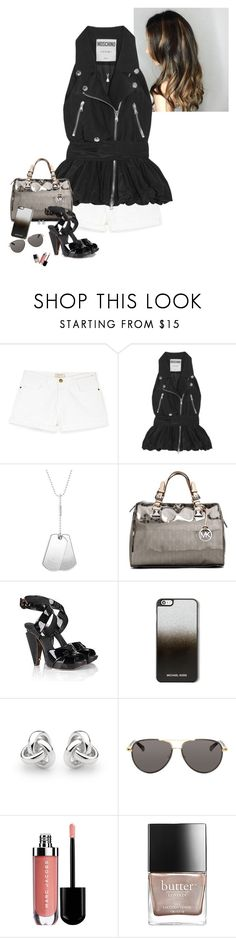 """""""nome-nome."""" by sweetsovereign ❤ liked on Polyvore featuring Current/Elliott, Moschino, Gucci, MICHAEL Michael Kors, Marc Jacobs, Georgini, The Row, Butter London and nittashinonome"""