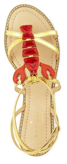 Kate Spade Lobster Sandals