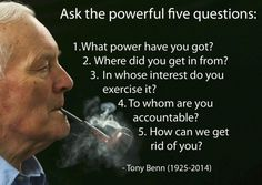 Tony Benn has died aged 88 (Photo by Christopher Furlong/Getty Images) British Values, Something To Remember, Philosophy Quotes, Way Of Life, Embedded Image Permalink, Me Quotes, Qoutes, Famous Quotes, Quotations