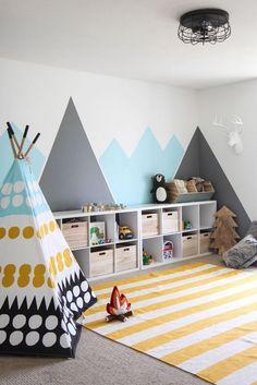 Kid room storage