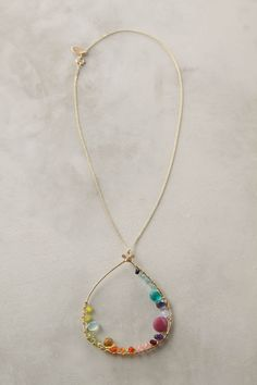 The Inner Circle necklace for $118 - there is something bold and delicate about this at the same time.  I love how the colors all work together